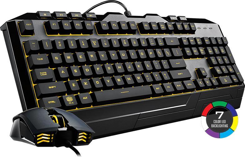 Cooler Master Devastator 3 Seven-color Gaming Keyboard & Mouse Combo