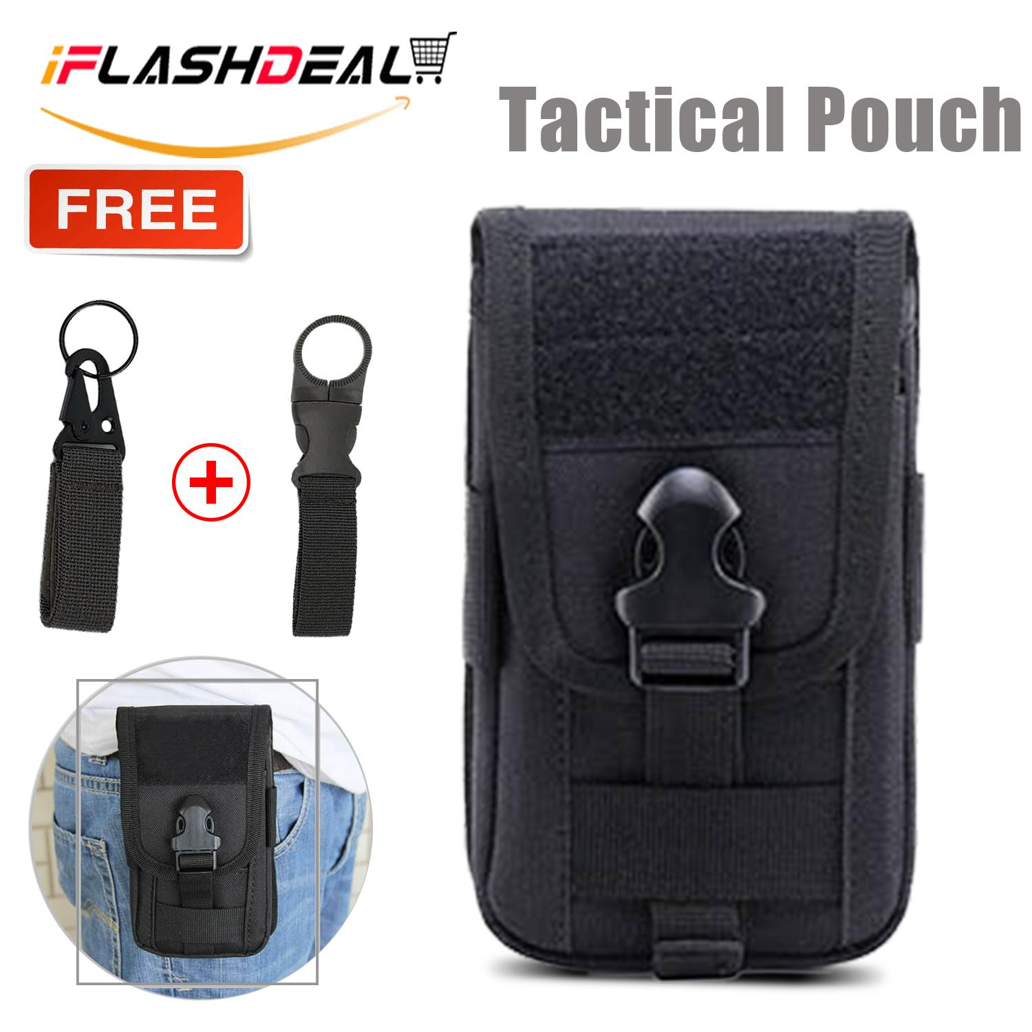 Iflashdeal Multipurpose Tactical Molle Pouch Edc Pouch Bag Military Belt Bag Gadget Phone Case Outdoor Holster Tactical Wallet Phone Pouch Utility Waist Packs With Cell Phone Holder By Iflashdeal.