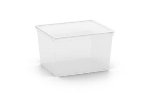 C Box Transparent -Cube W/Lid