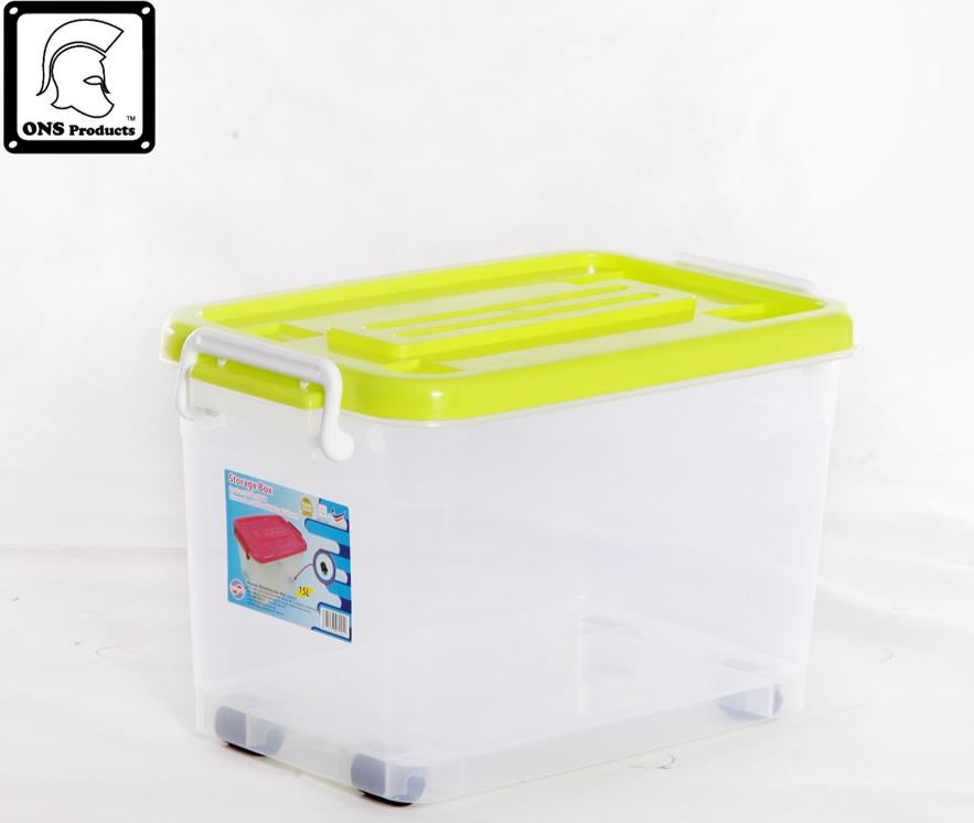 MAXONIC 15 Litre Multi Purpose Plastic Storage Box M9904