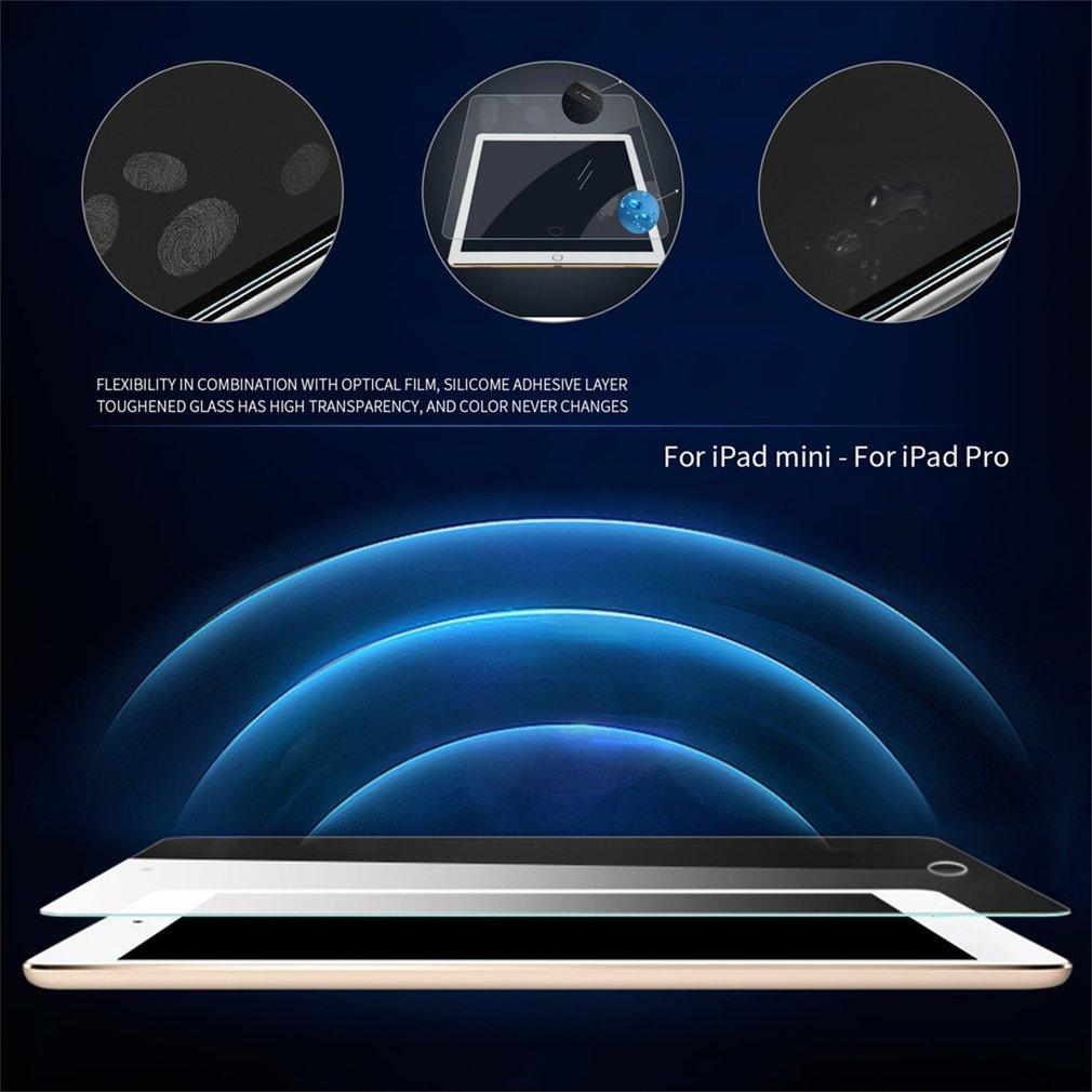 Ultra Thin 0.33mm 9H Screen Tempered Glass Film Screen Protecting Cover for iPad 2.5D Protective Film Explosion Proof