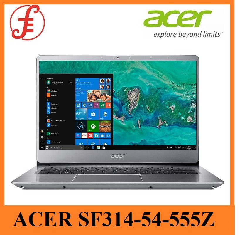 ACER SWIFT 3 SF314-54-555Z 14 INCH INTEL CORE I5-8250U 4GB+16GB OPTANE 1TB HDD WIN 10