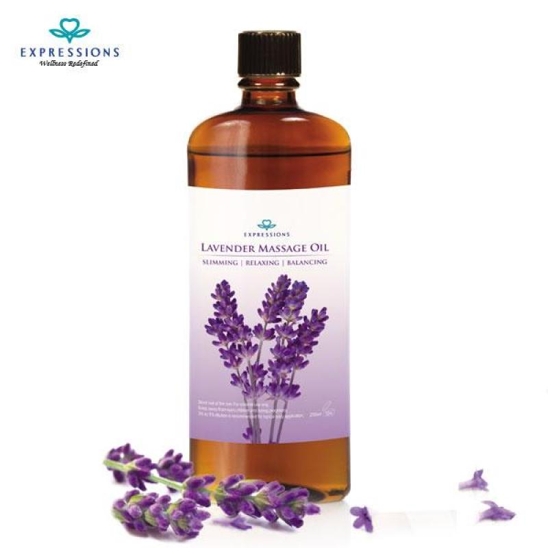 Buy Expressions Lavender Slimming/Massage Oil 200ml Singapore