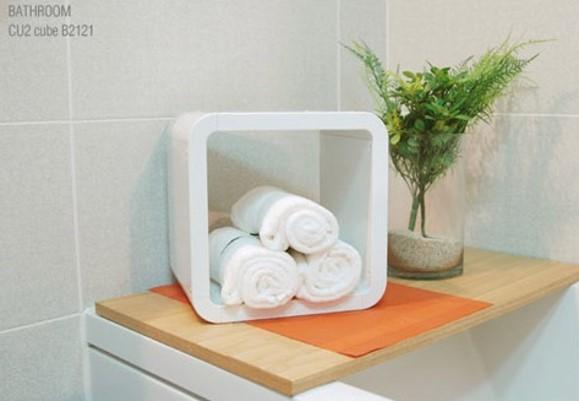 Cubics Furniture Wall Shelf / Cabinet
