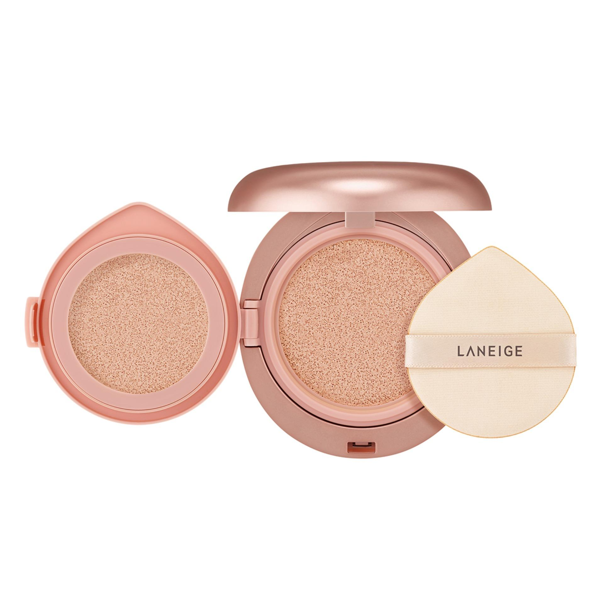 Laneige Layering Cover Cushion 14g + 2.5g [select From 7 Shades] By Laneige (capitaland Merchant).