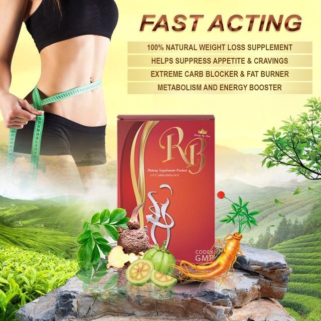 Rb Dietary Supplement Carbs-Sugar Blocker&fat Burner By Palimpsest International Pte Ltd.