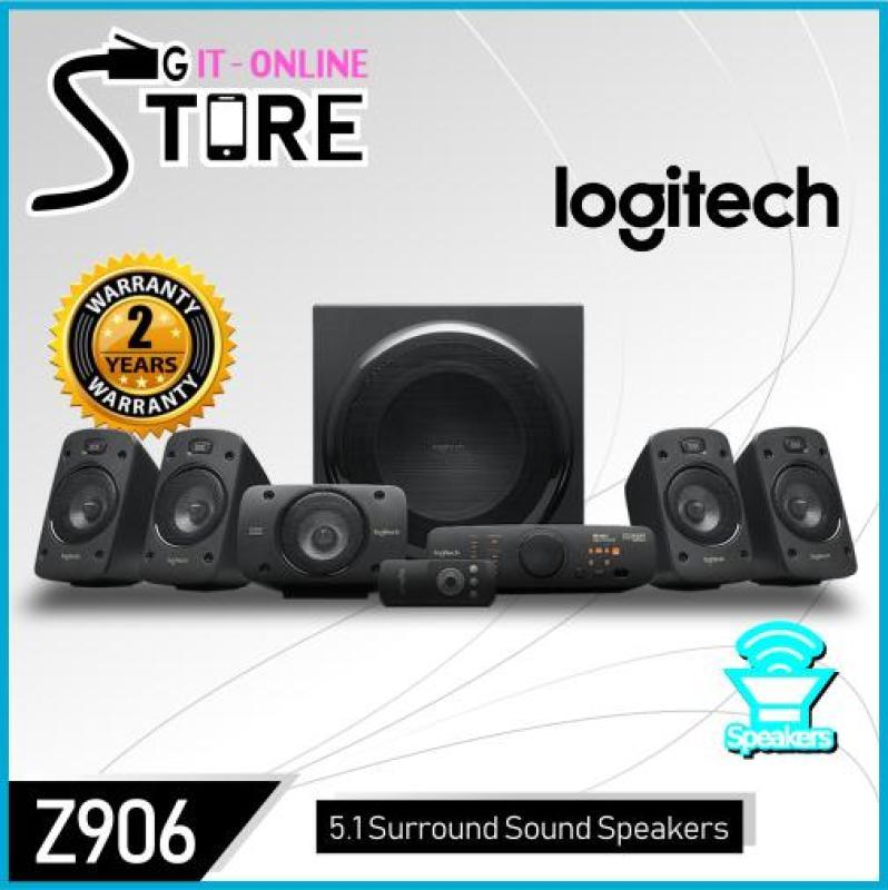 Logitech Surround Sound Speakers Z906 Singapore