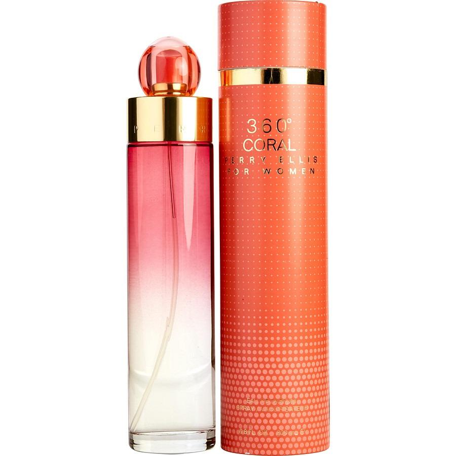 Perry Ellis 360 Coral Ladies 100Ml Edp Shopping
