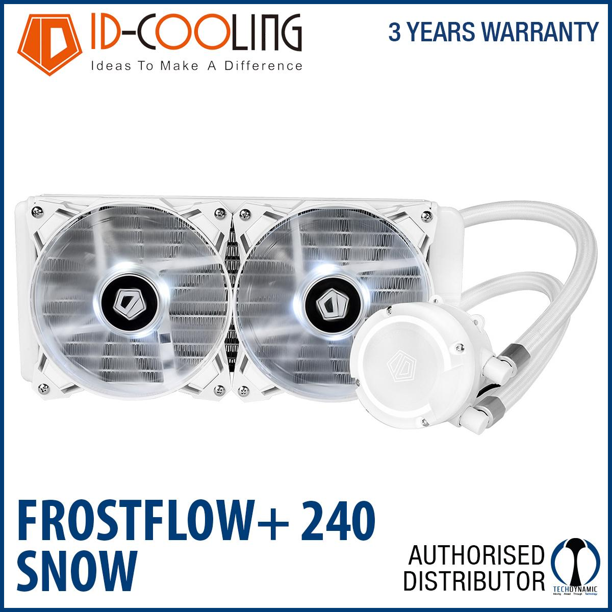 Price Comparisons Id Cooling Frostflow 240 Snow