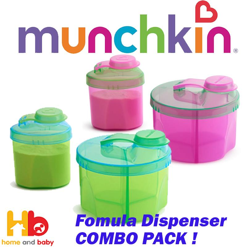 Munchkin Formula Dispenser Combo Pack By Home And Baby.