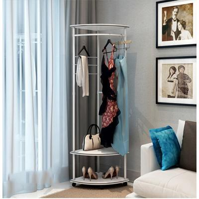 JIJI Dual Modern Clothes Rack (LRCR-08B) (FREE Installation) - Storage / Home Organization / Organizer / Decor (SG)