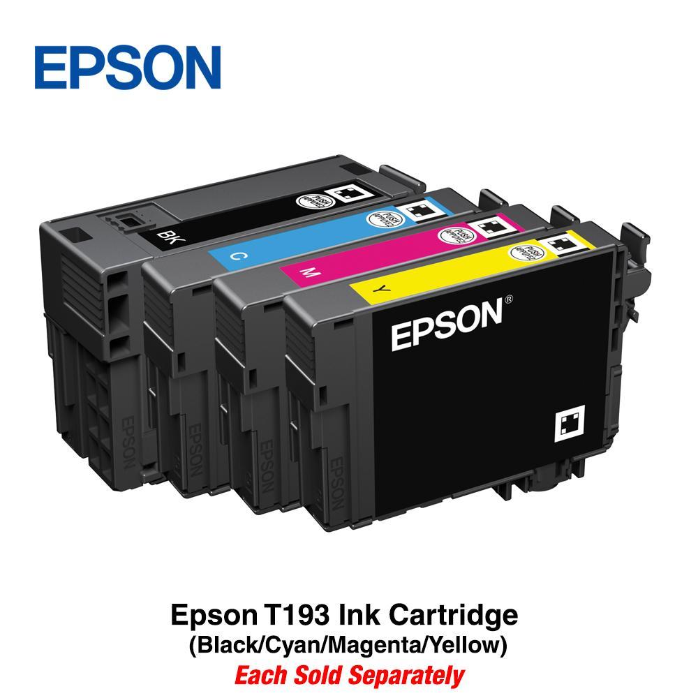Epson T193 Ink Cartridge (black/cyan/magenta/yellow) By Epson.