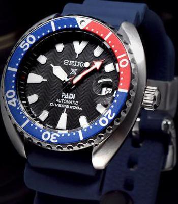 Seiko Prospex Padi Mini Baby Pepsi Turtle Diver Scuba SRPC41J SRPC41J1