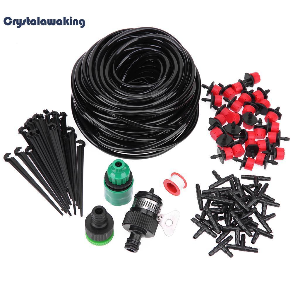 Buy 25M Diy Micro Drip Irrigation System Plant Self Watering Garden Hose Kits Online Hong Kong Sar China