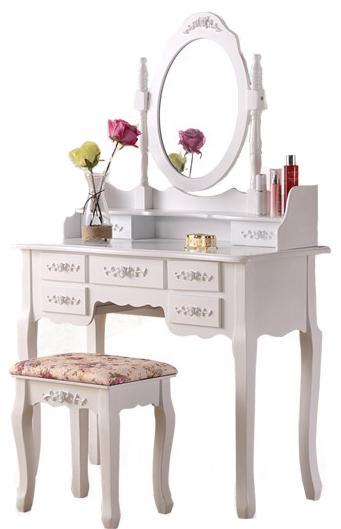 Louvre Dressing Table Set (Free Installation & Warranty 1 Year)