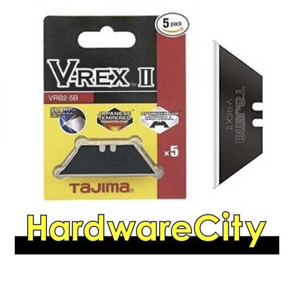 TAJIMA VRB2-5B V-Rex Utility Knife Blade - Pack of 5 [VRB2-5B]