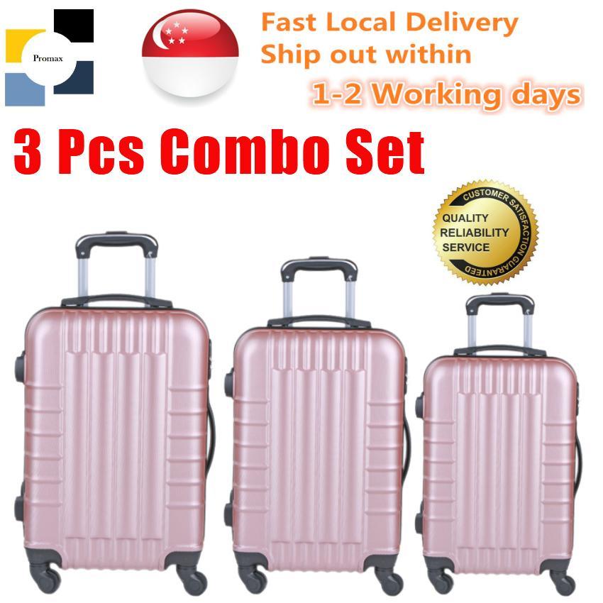 ce1e6c78c Luggage. Polo City. Set of 3 Pcs. Hard Case. Contains Cabin Size
