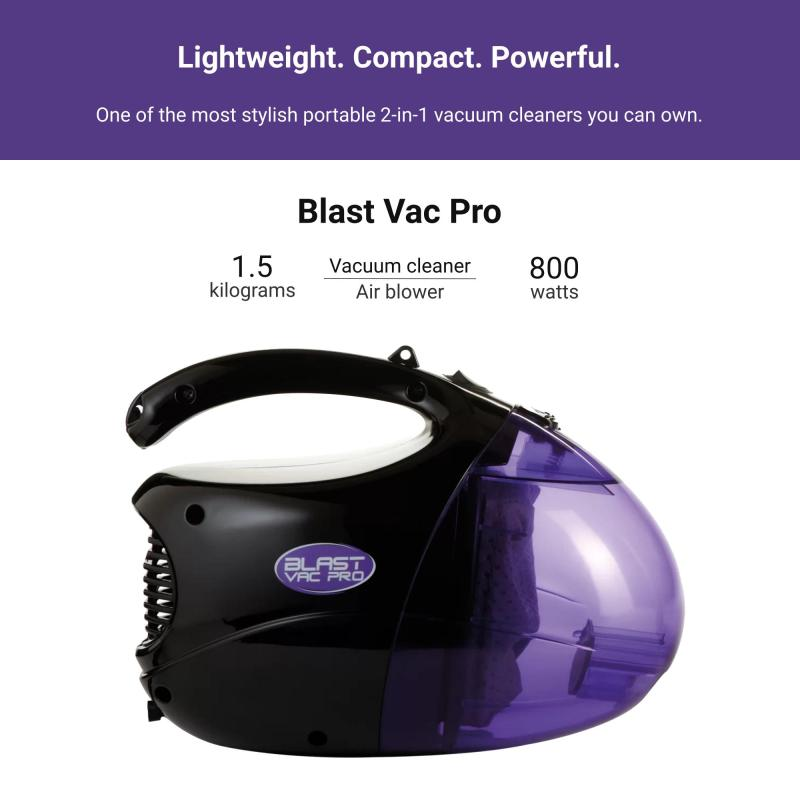 JML Blast Vac Pro Handheld Powerful Vacuum Cleaner Blower Portable Stylish Singapore