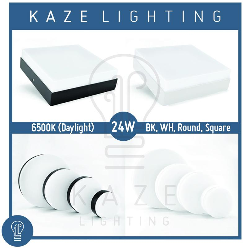 LED Ceiling Light 24w Surface Mount Panel Acrylic