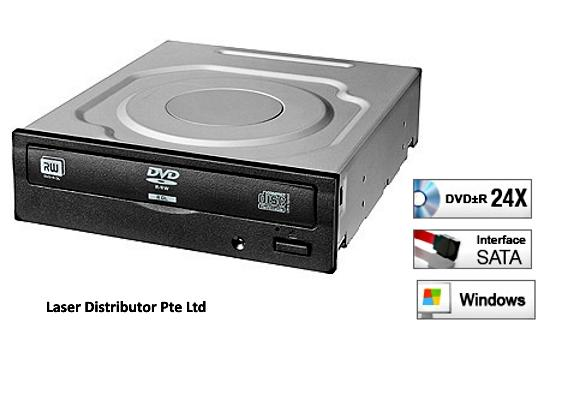 Liteon iHAS124 24x Sata Internal 5.25 inch  DVD Writer