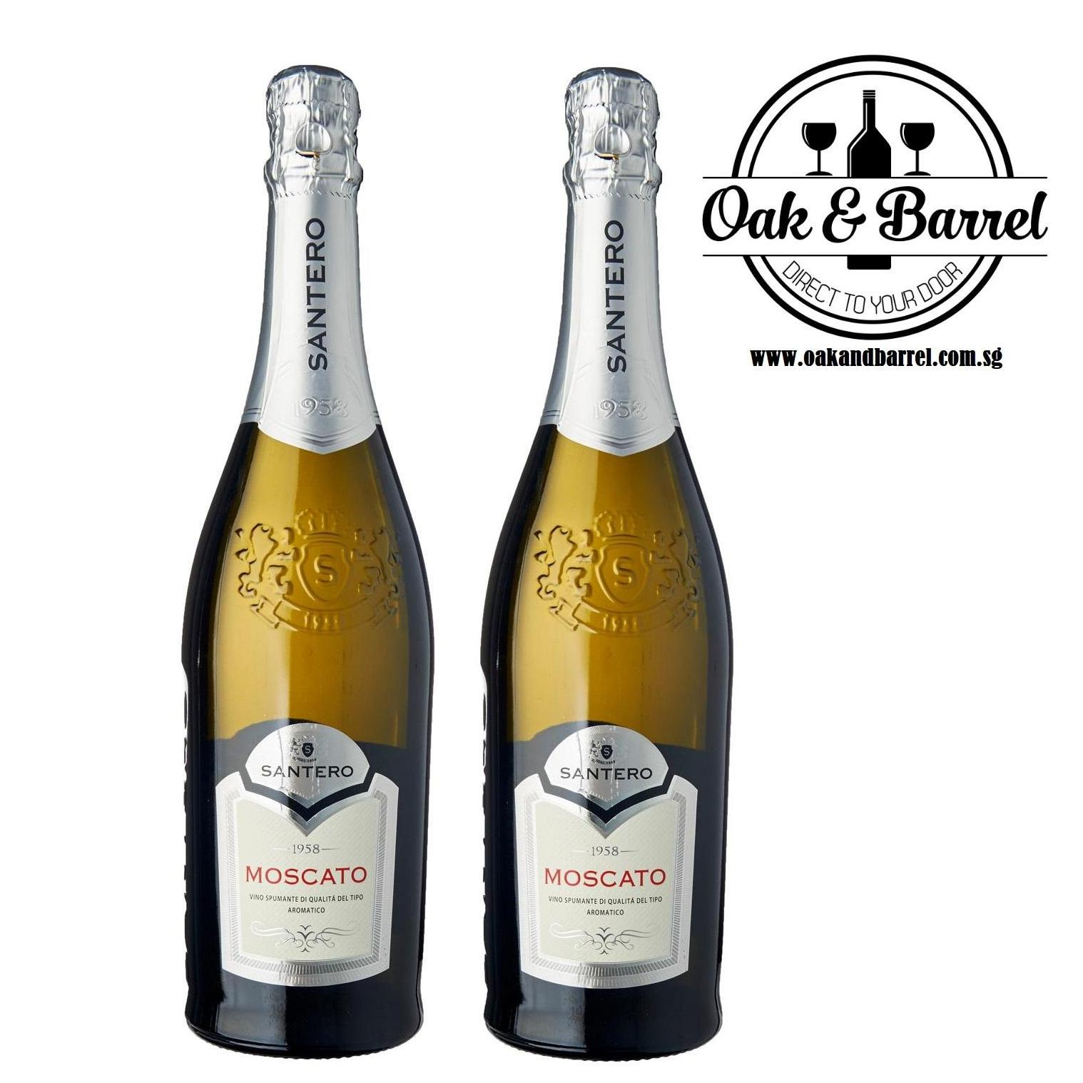 Sale Santero Sparkling Moscato 750Ml X 2 Bottles Online On Singapore