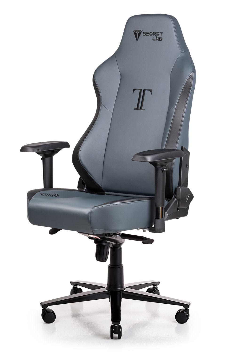 Secretlab TITAN 2018 Series PRIME PU Leather Gaming Chair - Ash