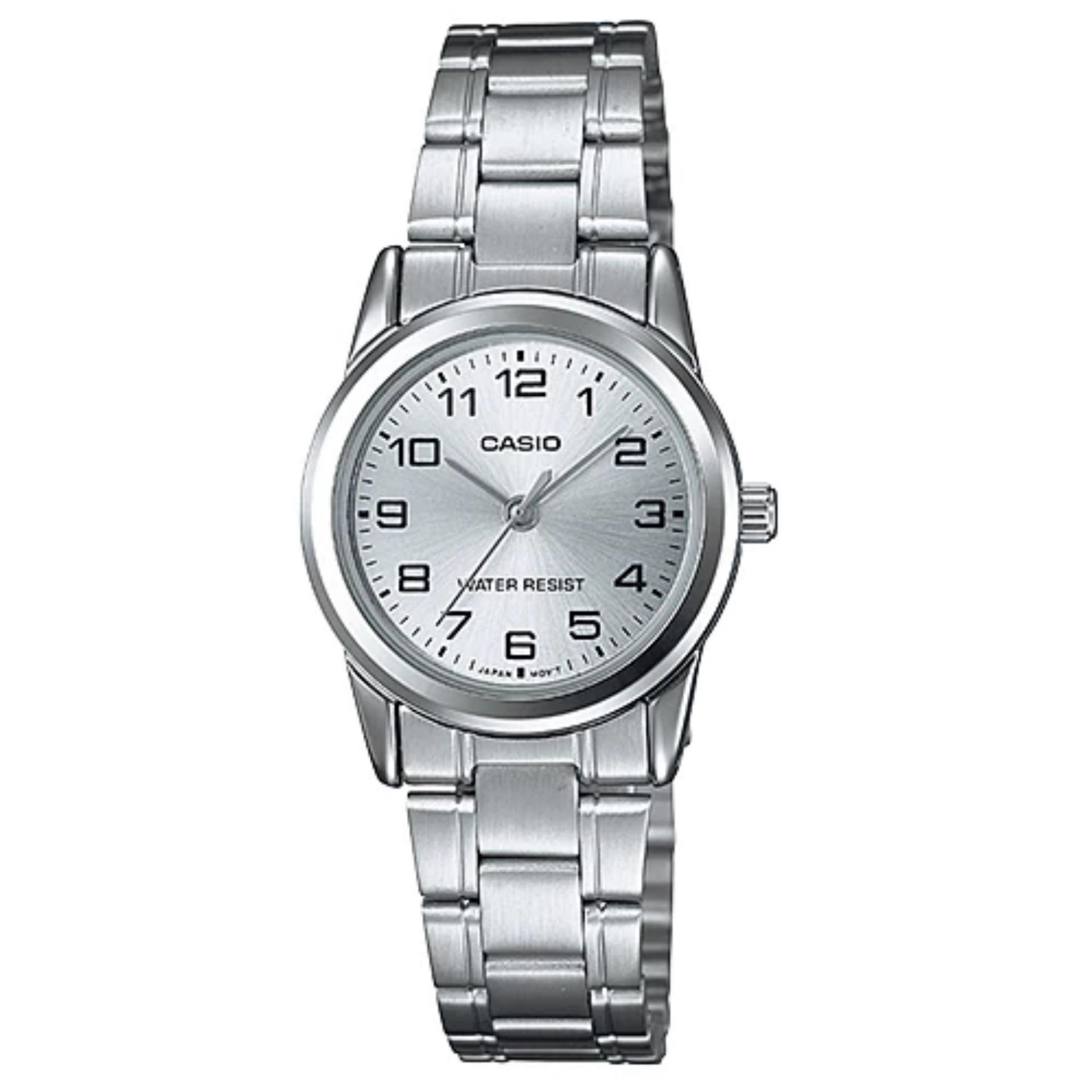 Review Casio Silver Ladies Analog Dress Watch Ltp V001D 7B Singapore