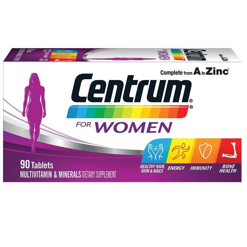 How To Get Centrum For Women Multivitamin 90 Tablets