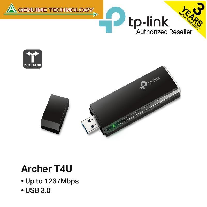 TP-Link Archer T4U AC1300 Wireless Dual Band USB Adapter
