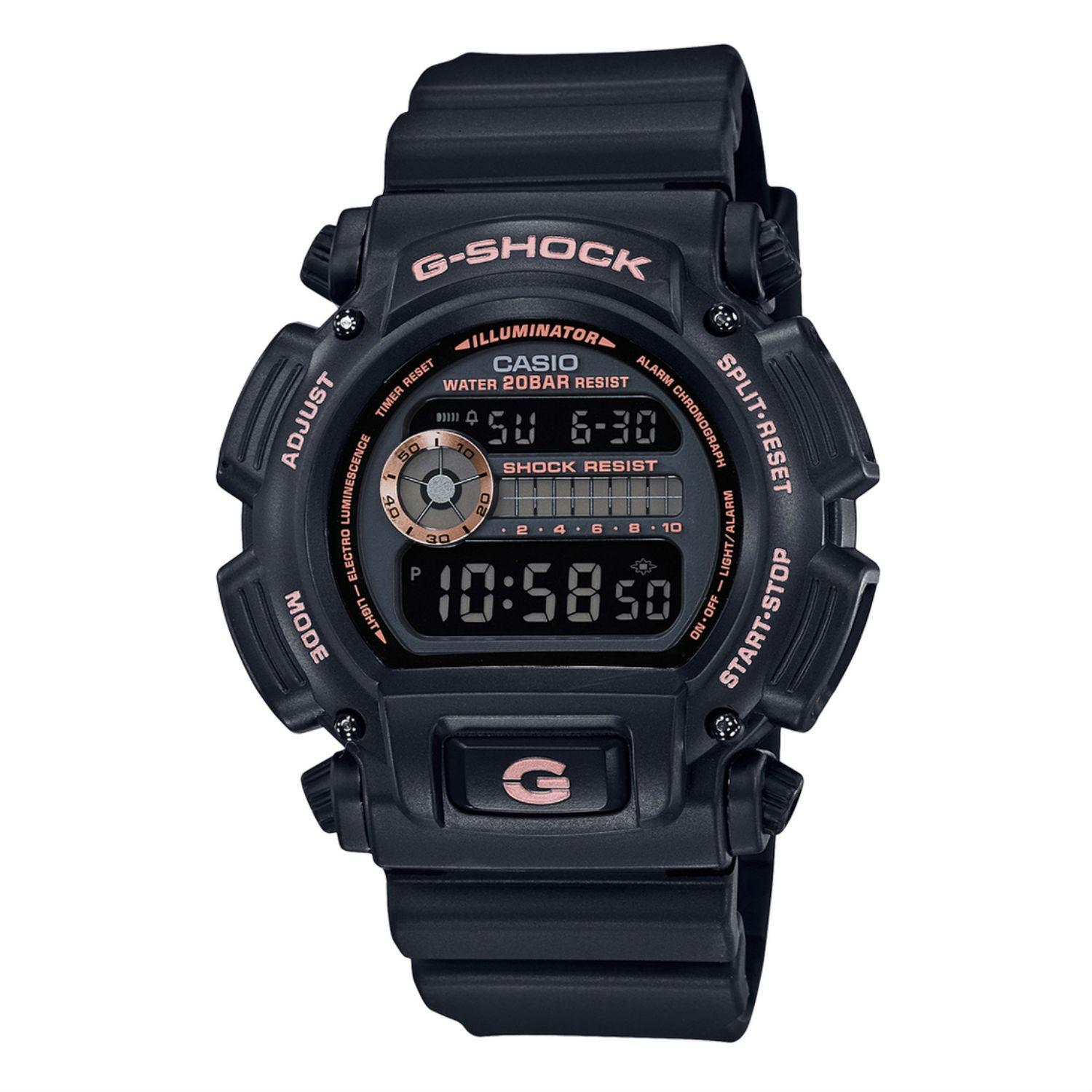 The Cheapest Brand New 100 Authentic Casio Gshock Matt Black Rose Gold G Shock Digital Men Watch G Shock Dw9052Gbx 1A4 Dw9052Gbx 1A4Dr Online
