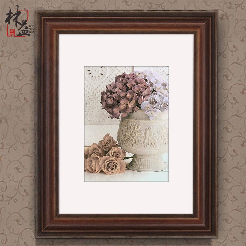 Lin yi Wood Frame Creative Wall Minimalist Modern Decorative Picture Frame Natural 20 24 30 36-Inch Photo Frame Custom-Built