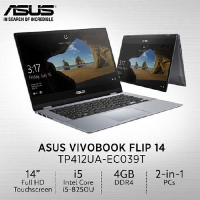 Asus TP412UA-EC039T (Intel i5, 8GB RAM, 256GB SSD 14.0INCH FHD WIN 10 (Sliver Blue)