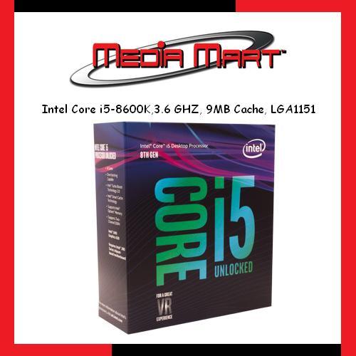 Intel Core I5 8600K 3 6 Ghz 9Mb Cache Lga1151 On Singapore