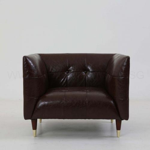 Frank Sofa (Brown Vintage Leather)