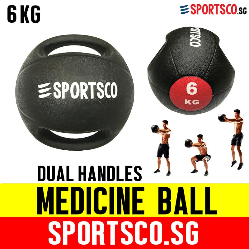 Sportsco 6kg Medicine Ball With Dual Grip (sg) By Sportsco Singapore.