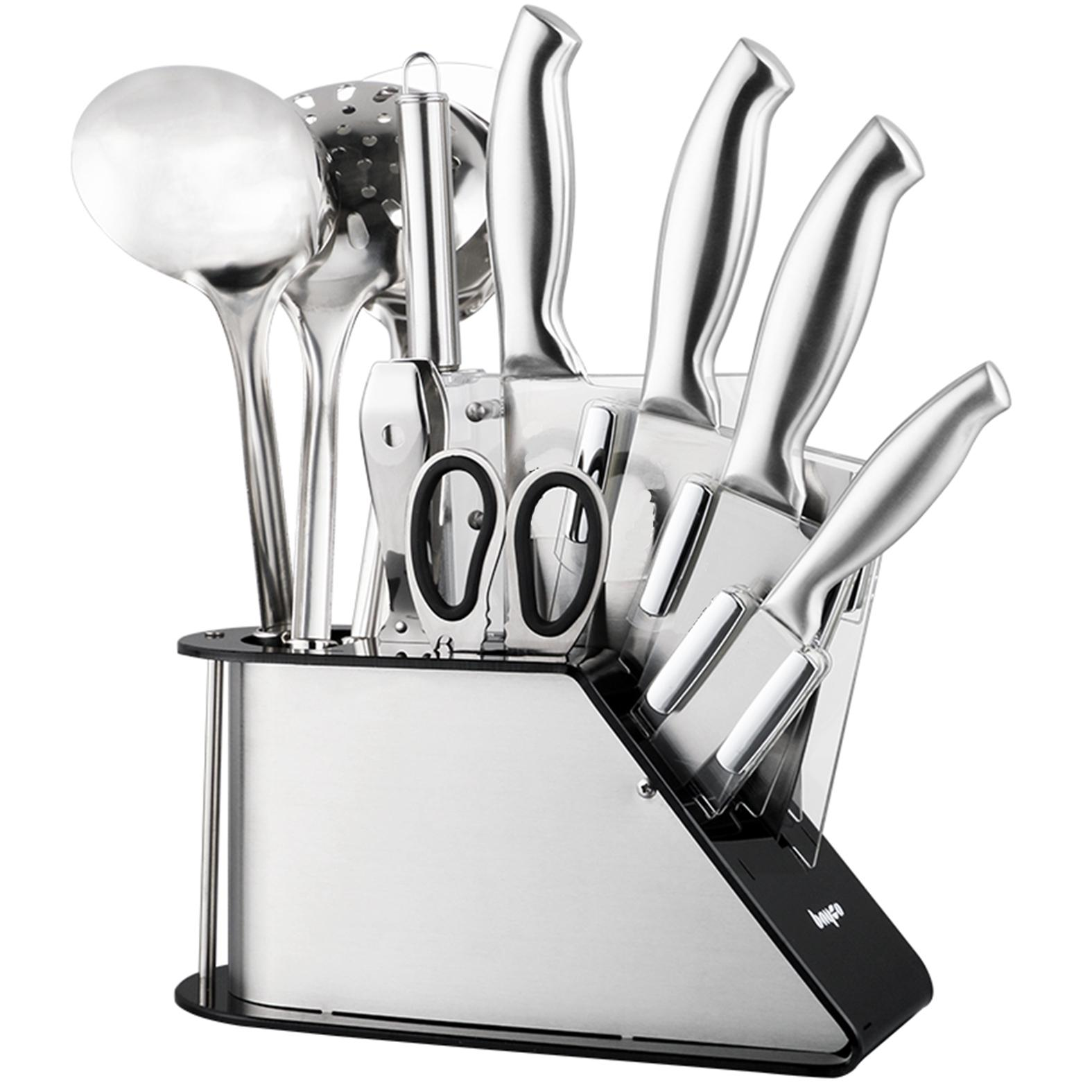 Jiji (platinum 304 Stainless Steel Kitchen 9 Pcs Set) / Kitchen Utensils / Cookware (sg) By Jiji.