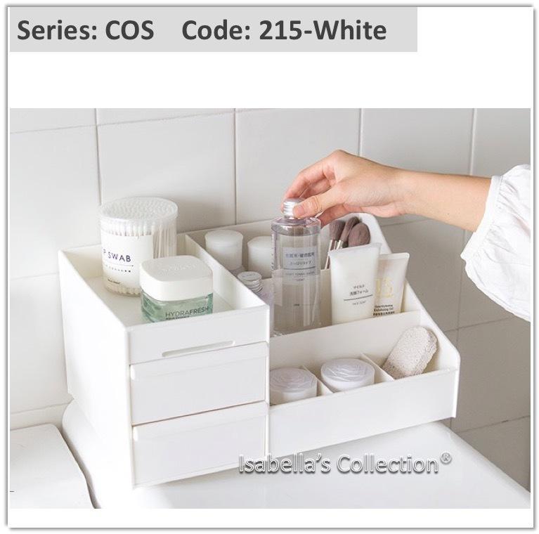 Hush Gecko[Free Shipping] Desktop Organizer Pen Book Shelf Organiser Makeup box Cosmetic Jewelry Storage Make