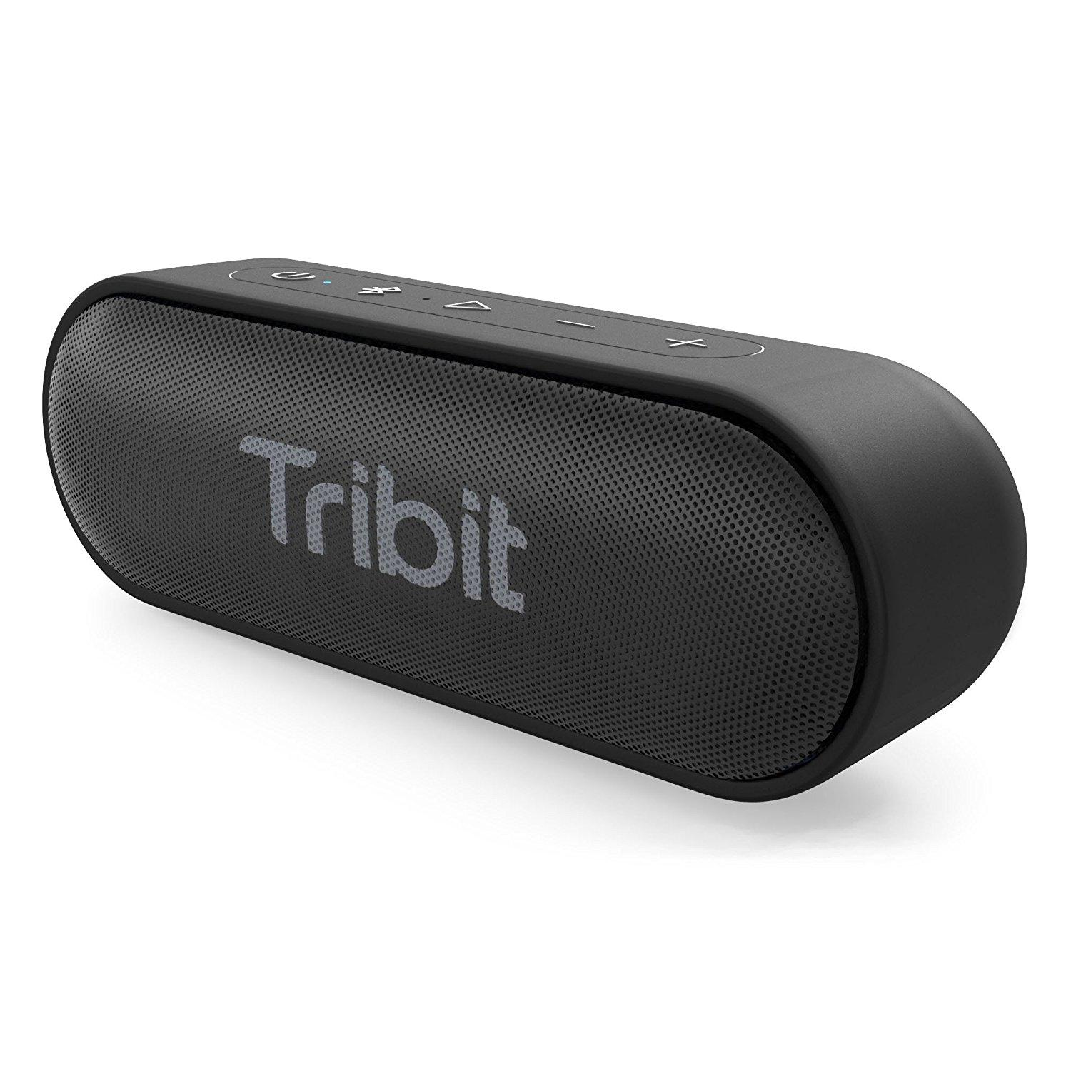 For Sale Tribit Xsound Go Portable Bluetooth Speaker 2×6W Wireless Speaker With Rich Bass Ipx7 Waterproof 24 Hour Playtime 66 Ft Bluetooth Range Built In Mic For Party Travel The Wirecutter S Pick