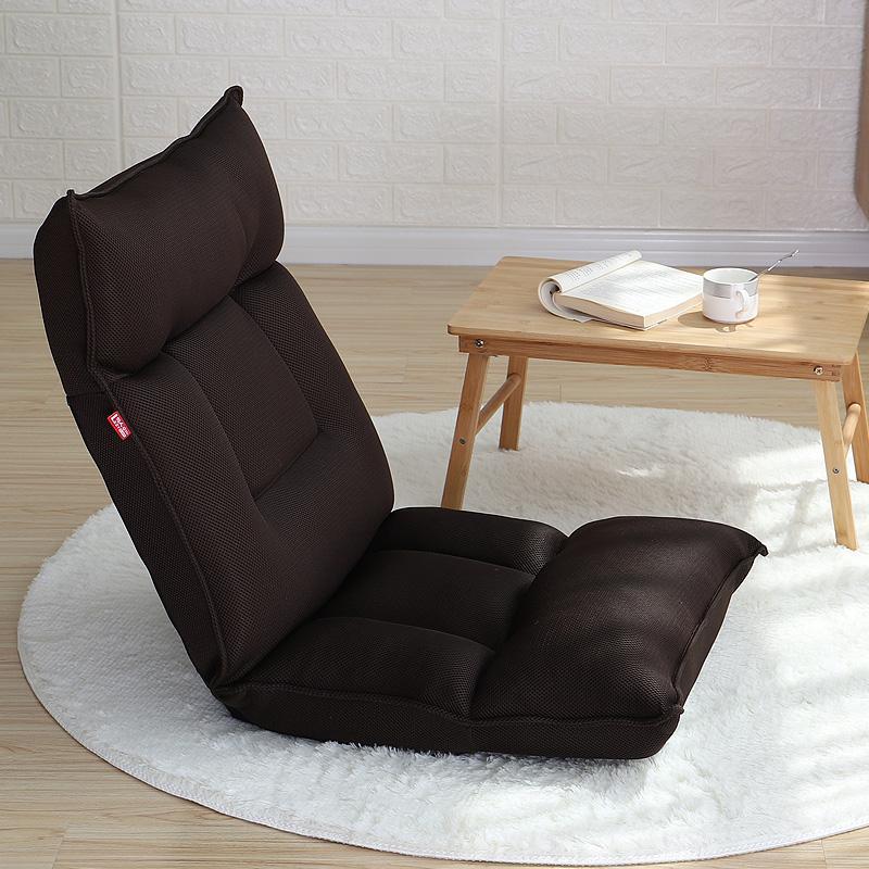 YONA Tatami Floor Sofa Chair (Grid Cloth+High Density Springback Cotton Foam)