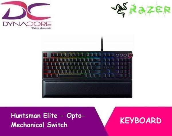 Razer Huntsman Elite - Opto-Mechanical Switch Keyboard with Wrist Rest and Media Keys Singapore
