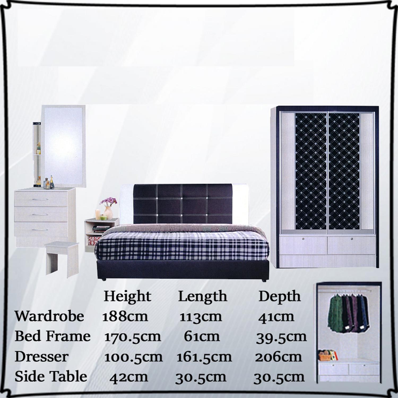 Yenna Bedroom Set