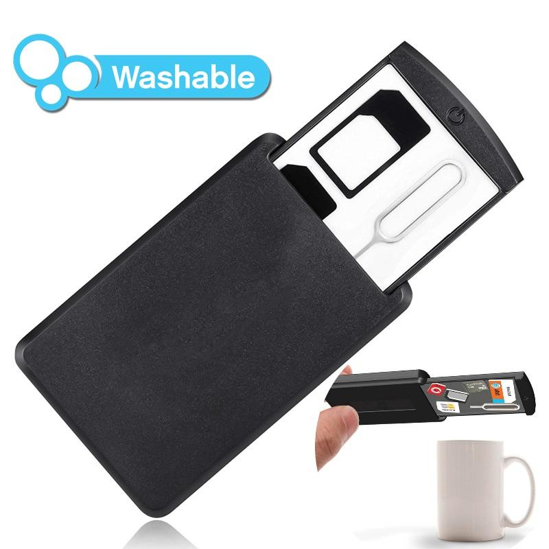 Digital-Mobile Safe Case With Grip Pad Technology Sim Card Holder Washable And Reusable By Shoponlinelah By Sol Home.