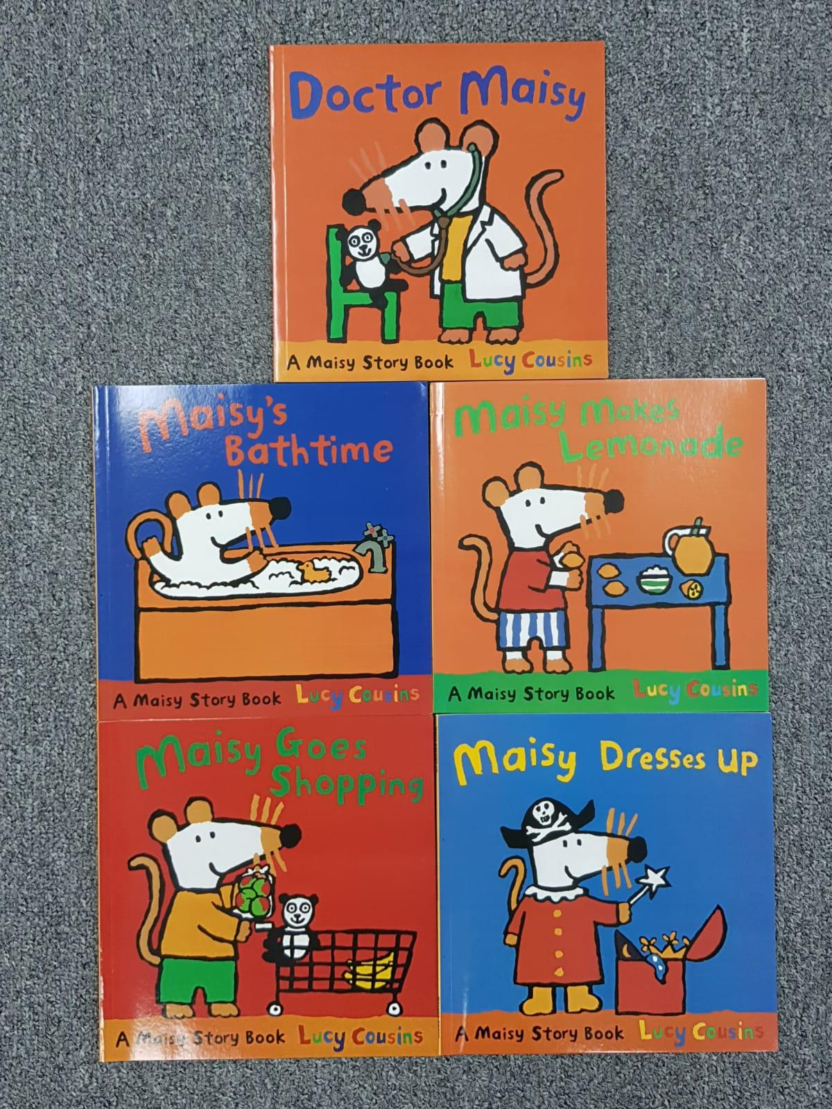 Maisy Mouse 12 Books Collection (10 story books + 2 sticker books)