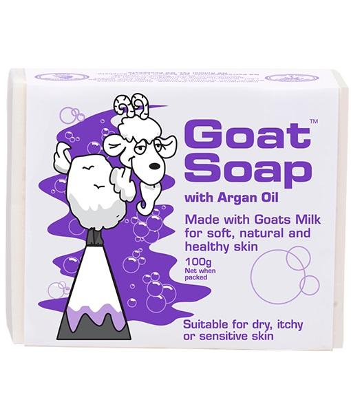 Goat Soap With Argan Oil Value Pack (4 X 100g Soap Bars) By Australia Health Warehouse.