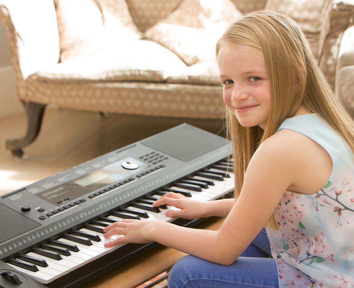 Pro onboard piano tones