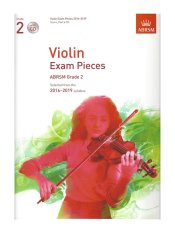 ABRSM Grade 2 Violin Exam Pieces with CD