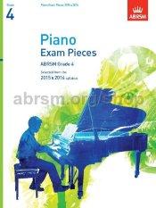 ABRSM Grade 4 Piano Exam Pieces 2015 & 2016 (CD)