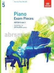 ABRSM Grade 5 Piano Exam Pieces 2015 & 2016 (CD)