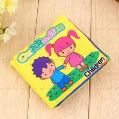 Educational Cloth Book Baby Toddler Intelligence Development Toys Character