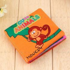 Educational Intelligence Development Cognize Cloth Book Toy For Baby Animal